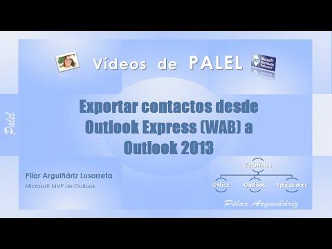 Xxx Mp4 Importar Contactos Desde Outlook Express WAB A Outlook 2013 En Windows 7 Y 8 3gp Sex