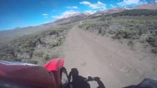Honda tornado humilla en Rally Cross Country en Los Antiguos  a YZ450, WR450, KX250 y Raptor 4