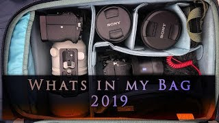 Whats In My Bag - 2019