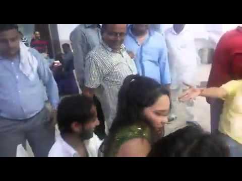 Indian business man Enjoy with Bar Dancers