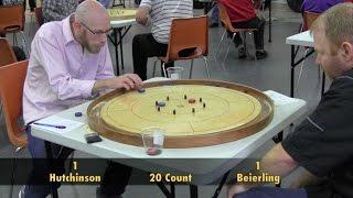 Crokinole 2016 Hamilton Semifinal - Beierling v Hutchinson