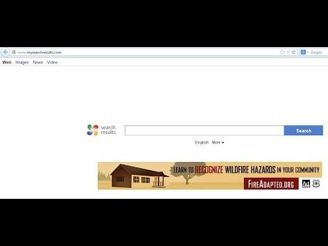 Remove MySearchResults.com (Default Search Tab & Toolbar)
