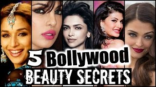 5 BOLLYWOOD ACTRESS BEAUTY SECRETS & HACKS REVEALED!  │ Flawless Skin, Thick Long Hair, Diet Tips!