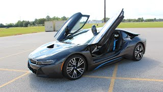 2014 - 2015 BMW i8 - Review in Detail, Start up, Exhaust Sound, and Test Drive