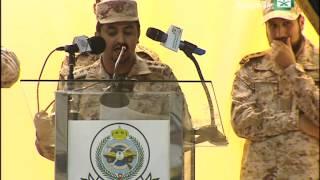 الشاعر سلطان بن بتلاء يفجرها بوجه داعش وامام الامير متعب