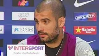 Rueda de prensa de Guardiola