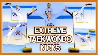 Advanced Martial Arts/Taekwondo Kicks   (Extreme Kicking & Flip Kicks too)   GNT