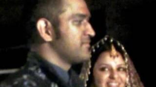 MS Dhoni's wedding Marriage/Shaadi Photo Video