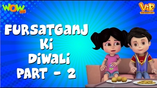 Fursatganj Ki Diwali Part 2 - Vir: The Robot Boy - Kid's animation cartoon series