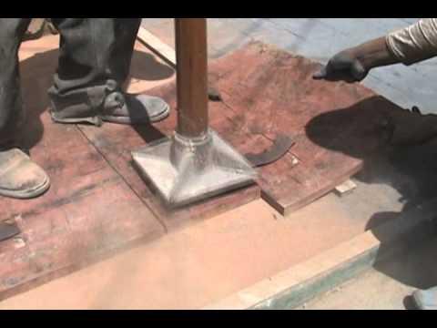 DECONCRETO Proceso de aplicación del concreto estampado