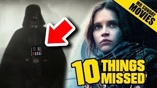 ROGUE ONE: A STAR WARS STORY Trailer - Things Missed, Easter Eggs & Future Movies