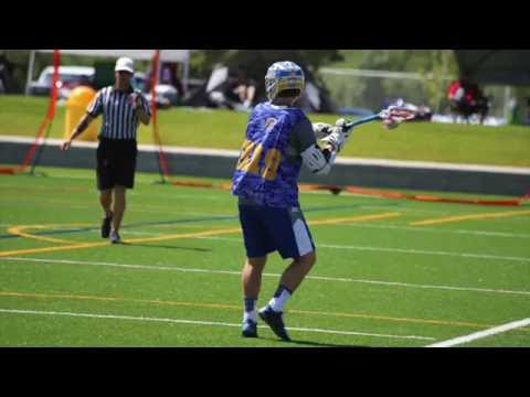 Kyle Rudee 2019 lacrosse midfielder- 2016 Highlights