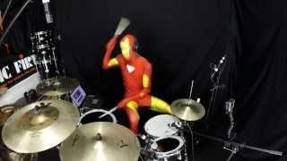 Iron Man - Drum Cover - Black Sabbath - Halloween Cover
