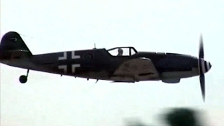 LAST FLYING MESSERSCHMITT BF/ME 109 G-10 DISPLAY WITH AWESOME SOUND OF THE DAIMLER BENZ DB 605!!!