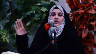 شاعره اول مره تقره القصيدة أمام الجمهور - ترد ضد البنات _ الشاعره ايات الاسدي 2018 _ 2019