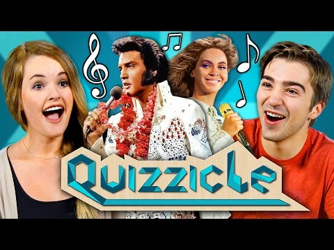 MUSIC QUIZZICLE CHALLENGE New Game Show React Special