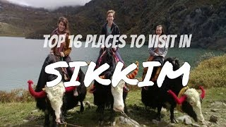 Sikkim,India | Top 16 places to must visit in sikkim #incredibleindia