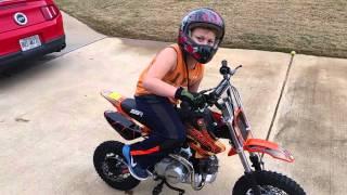 Ssr 110 dx pit bike