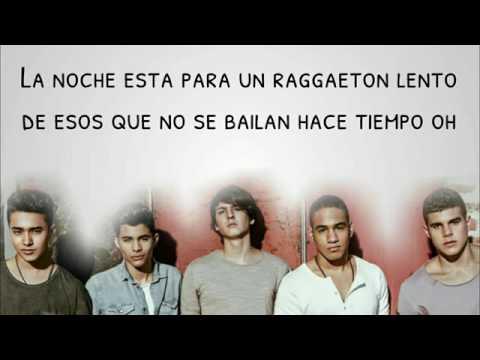 CNCO Reggaetón Lento Lyrics