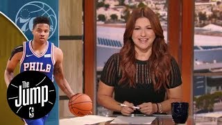 76ers' treatment of Markelle Fultz's shoulder is 'weird'   The Jump   ESPN