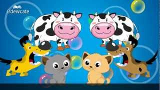 Edewcate english rhymes - Animal Sounds song