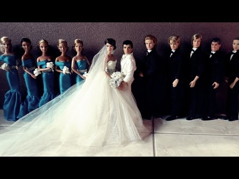 Barbie and Ken Wedding Day Video