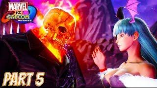 Marvel vs Capcom Infinite Story Part 5: Dark Kingdom Soul Stone (Ghost Rider, Morrigan, Dr Strange)