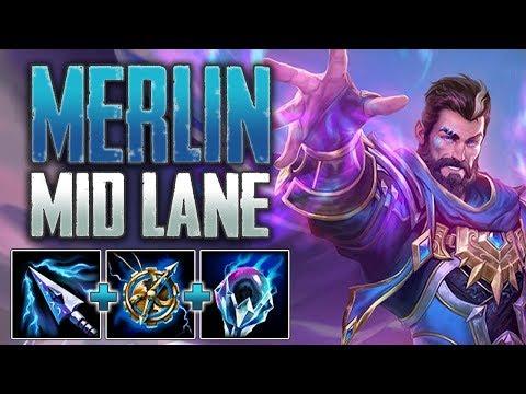 Xxx Mp4 SMITE Merlin Mid Gameplay Merlin Vs Matchmaking 3gp Sex