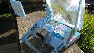 فكرة مشروع 7 :: توليد كهرباء من حرارة الشمس