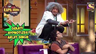 Dr. Gulati Hypnotizes Arijit Singh - The Kapil Sharma Show
