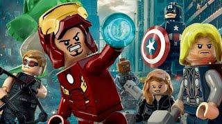 LEGO Marvel Avengers - Full Movie / All Cutscenes (Avengers 1)