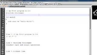 الدرس الثانى اساسيات ال C++( تركيب البرنامج)