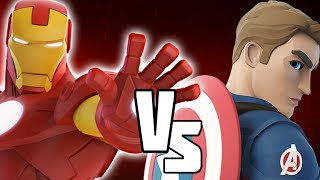 Captain America Civil War VS Iron Man - Marvel Battlegrounds