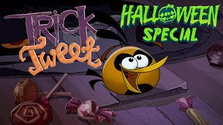 "Angry Birds ""Trick or Tweet"" - wishing you a Happy Halloween!"