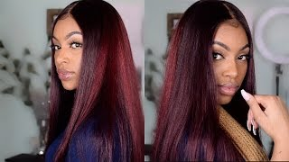 Affordable Aliexpress Hair| Ali Grace Brazilian Straight Hair + How I Dye My Frontal