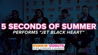 5 Seconds of Summer Performs 'Jet Black Heart' | DDICL