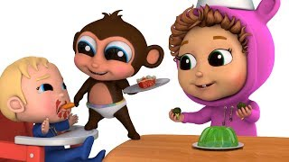 Crazy Food Sausage | Songs For Kids