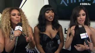Fifth Harmony Magenta Carpet Interview - BBMAs 2016