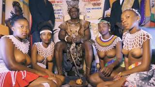 Video: Owerri Imo State Born African King Parades Nude Girls