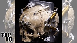 Top 10 Objects Made From Human Skulls