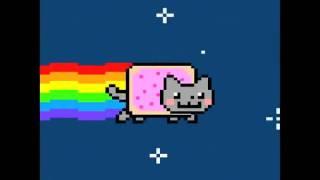 Nyan Cat slow motion