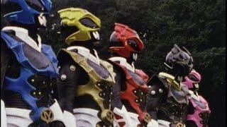 Power Rangers in Space - Power Rangers vs Psycho Rangers First Fight (Rangers Gone Psycho)