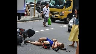 Amazing brutal accidents caught on camera - HD 720p