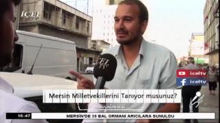 20.07.2017 #SokağınSesi - Mersin Milletvekillerini Tanıyor musunuz?