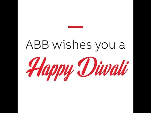ABB wishes you a happy Diwali!