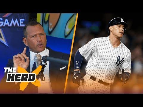 Alex Rodriguez on the Chicago Cubs struggles Aaron Judge the ASG and more THE HERD