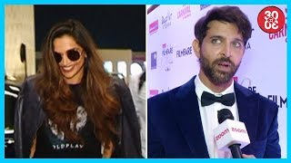 Deepika In Top Ten Most Followed Twitteratis List | Hrithik Roshan On Two Hero Films