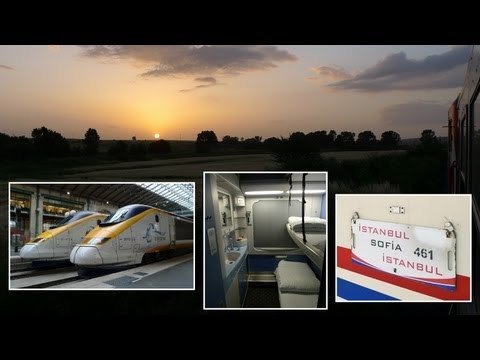 ISTANBUL EXPRESS London to Istanbul by train in 12 minutes