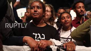 Israel: Thousands of African asylum seekers protest deportation plan