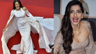 OOPS! Sonam Kapoor FALLS At Cannes Red Carpet 2016